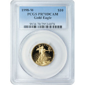Graded Proof Gold Eagles