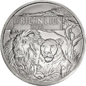 Silver African Lions