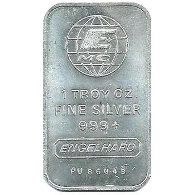 Buy Vintage 1 Oz Engelhard Silver Bars 999 Silver Com