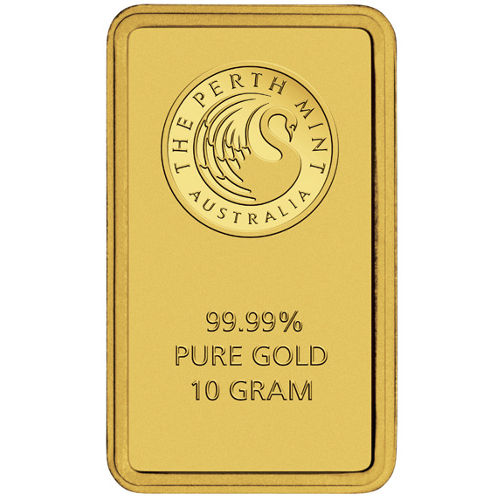 Buy 10 Gram Perth Mint Gold Bars New In Assay Silver Com