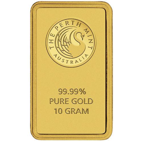 Buy 10 Gram Perth Mint Gold Bars New In Assay Silver Com