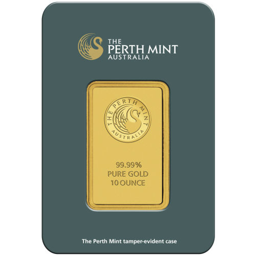 Buy 10 Oz Perth Mint Gold Bullion Bars Silver Com