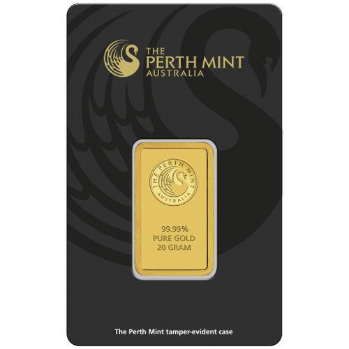 Buy 20 Gram Perth Mint Gold Bars Silver Com