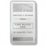 New - NTR Silver Bar-Solo Front