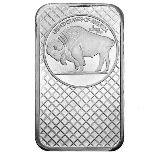 Buy 5 Oz Silvertowne Buffalo Silver Bars Online Silver Com