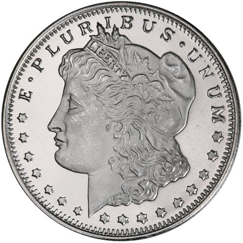 Buy 1 2 Oz Hm Morgan Silver Rounds 999 New Silver Com