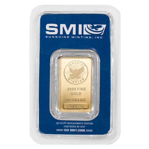 Buy 10 Gram Sunshine Mint Gold Bars New In Assay
