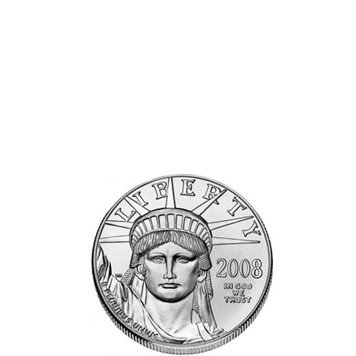 1/10 oz American Platinum Eagle (Varied Year, BU)