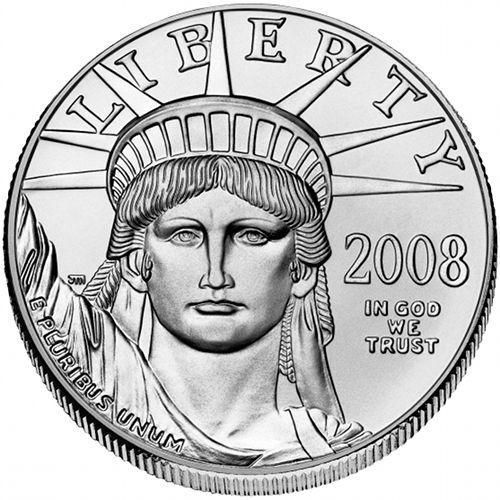 1/10 oz American Platinum Eagle (Varied Year, BU)