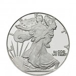 1/2 oz Walking Liberty Silver Round (New)