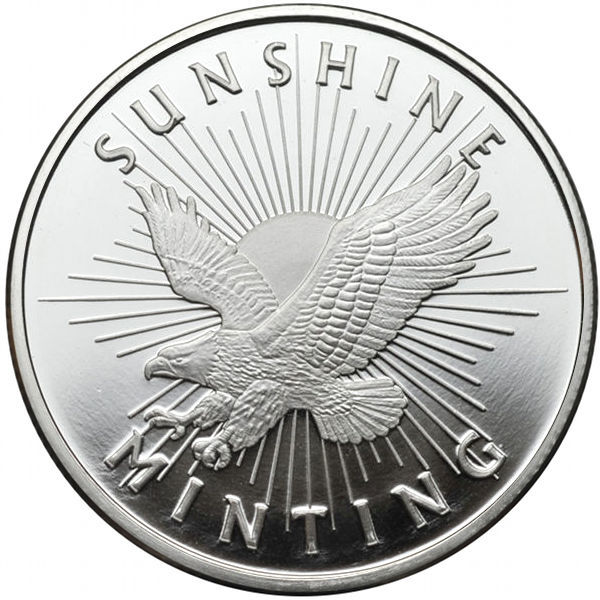 Buy 1 Oz Sunshine Silver Bullion Rounds Silver Com