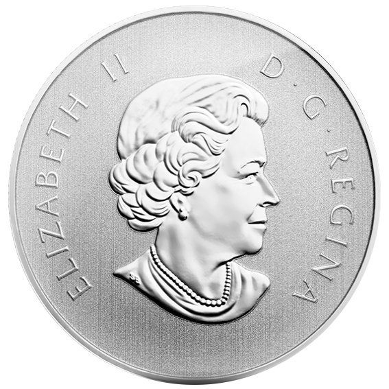 2014 1/2 oz Maple Leaf $10 Canadian Silver Coin