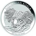 2014 10 oz Australian Silver Koala (BU)