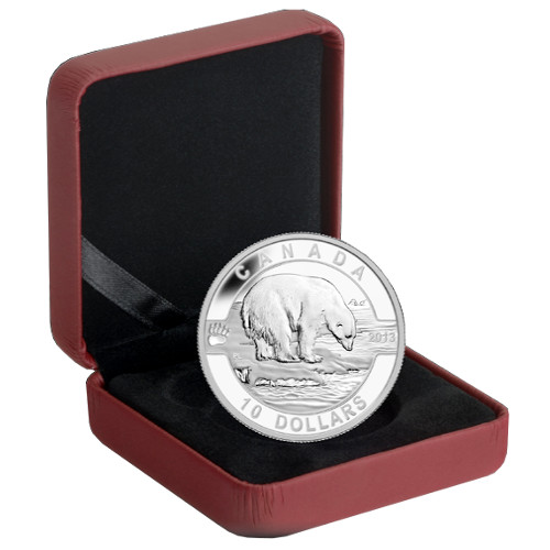 Buy 2013 1 2 Oz Silver Canadian Polar Bears Silver Com