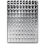 100 Gram Valcambi Silver CombiBar (100x1g)