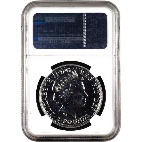 2014 1 oz British Silver Britannia NGC MS69 DPL