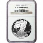 2006 (W) American Silver Eagle NGC PF70 UCAM