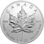2013 Canadian Silver Maple Leaf (BU)