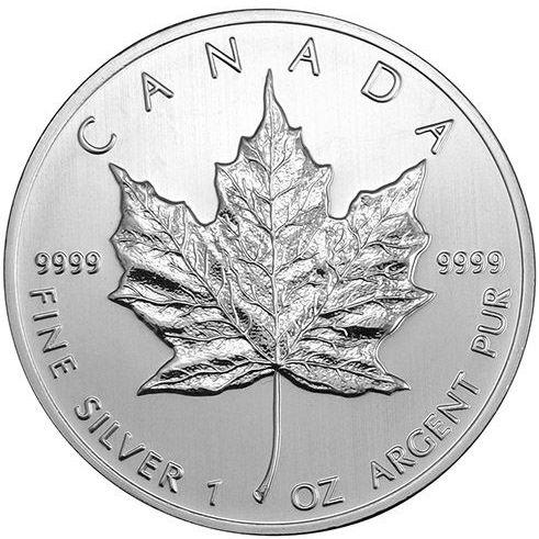 2006 1 oz Silver Canadian Maple Leaf .9999 Fine $5 Coin BU Sealed