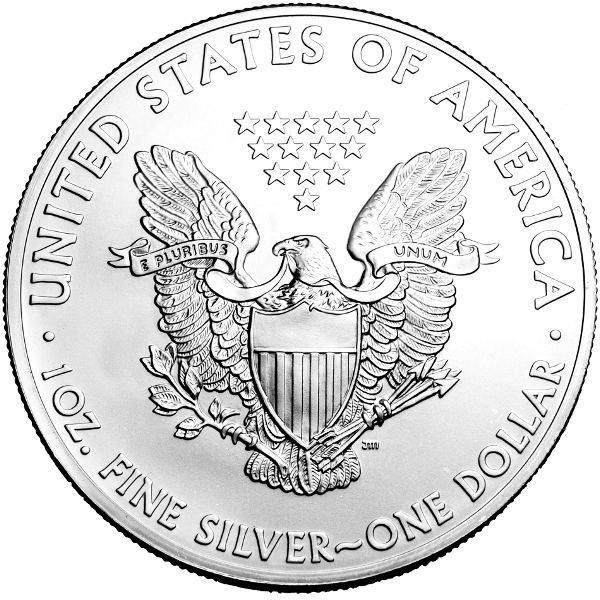 2014 1 oz Silver American Eagle BU