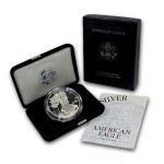 Proof American Silver Eagle (Varied Year, Box + CoA)