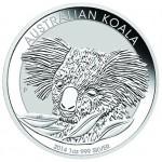 2014 1 oz Australian Silver Koala (BU)
