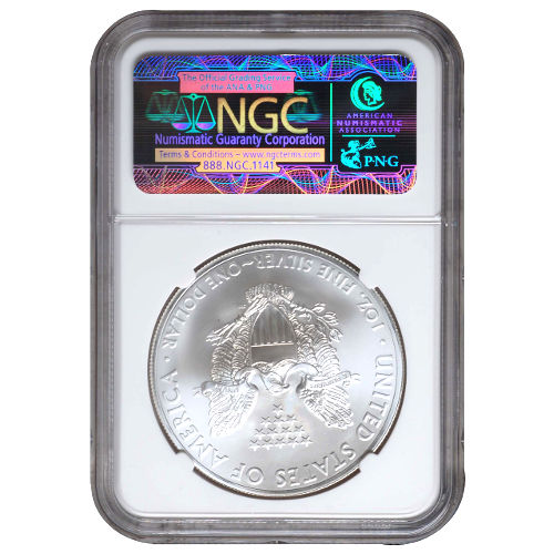 2013 (S) American Silver Eagle NGC MS70