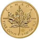 1 oz Canadian Gold Maple Leaf (Varied Year, BU)