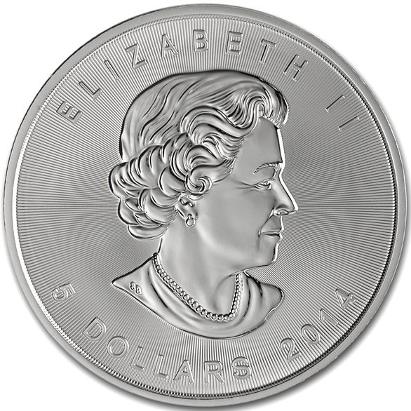 Buy 2014 1 oz Silver Canadian Maple Leafs - Silver.com