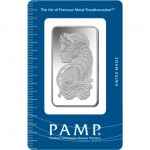 50 Gram PAMP Suisse Silver Bar (New w/ Assay)