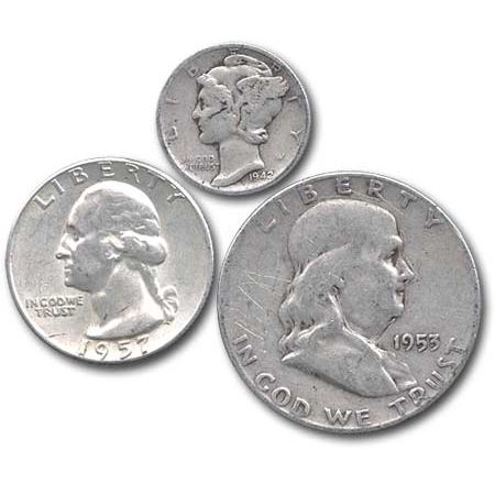 Buy 90 Us Silver Coins 10 Face Value Silver Com