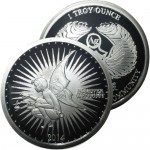 1 oz Proof Silverbug Silver Round (New)