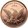 1 oz Flying Eagle Copper Round (New)