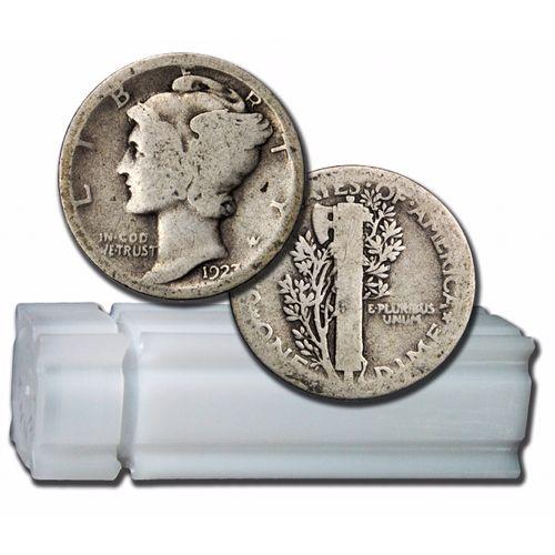 Buy 90 Silver Mercury Dimes 5 Face Value Silver