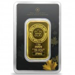 1 oz RCM Gold Bar (New w/ Assay)