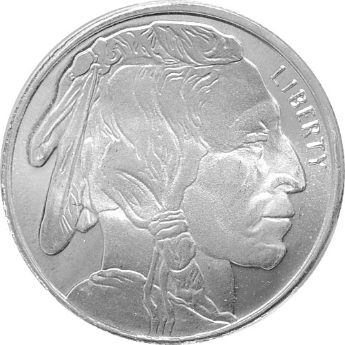Buy 1 2 Oz Silver Hm Buffalo Bullion Rounds Silver Com