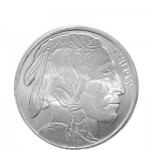 1/2 oz Buffalo Silver Round (New)