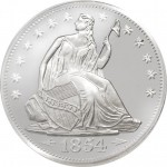 1 oz Seated Liberty Silver Round (New)