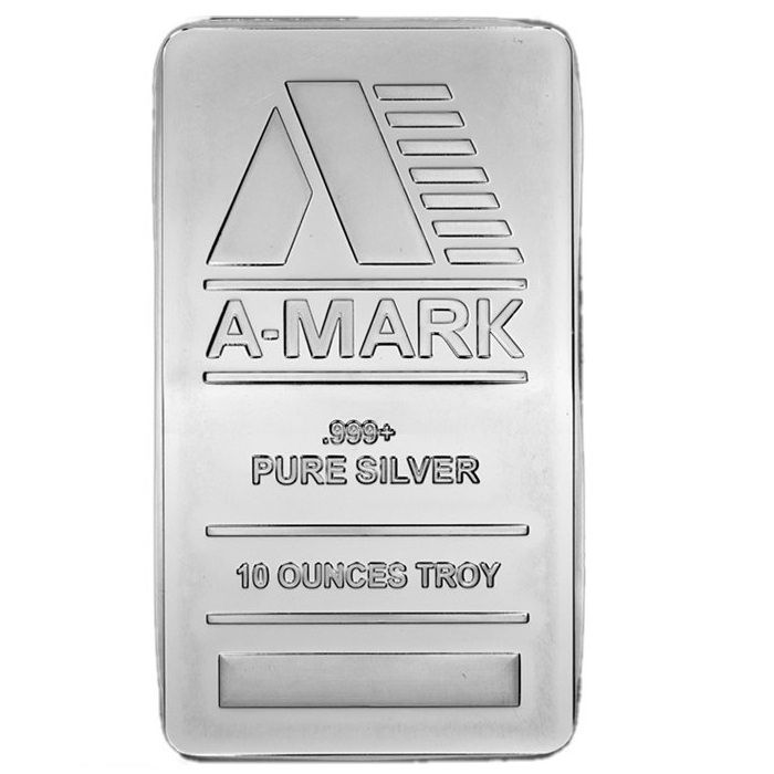 Buy 10 Oz A Mark Silver Bars 999 Online Silver Com