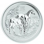 2014 1 Kilo Australian Silver Horse (BU)