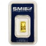 1 Gram Sunshine Gold Bar (New w/ Assay)