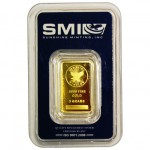 5 Gram Sunshine Gold Bar (New w/ Assay)