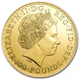 2014 1 oz Gold Britannia