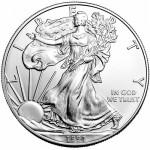 1991 American Silver Eagle (BU)