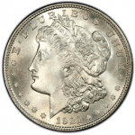 Morgan Silver Dollar (1878-1904, 1921, Fine)