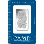 1 oz PAMP Suisse Silver Bar (New w/ Assay)