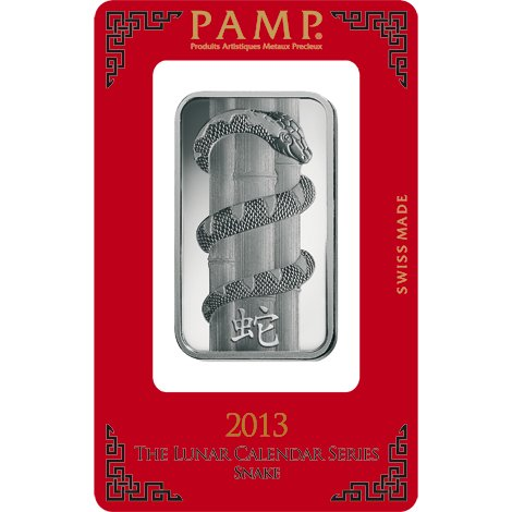 Buy 1 Oz Pamp Suisse Snake Silver Bars Silver Com