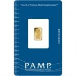 1 Gram PAMP Suisse Gold Bar (New w/ Assay)