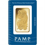 100 Gram PAMP Suisse Gold Bar (New w/ Assay)