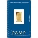 5 Gram PAMP Suisse Gold Bar (New w/ Assay)